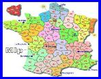 links - small map of departments in France